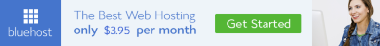 Niche site hosting at Bluehost