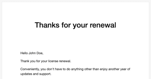EDD Better Purchase Receipts - Renewal Email Preview