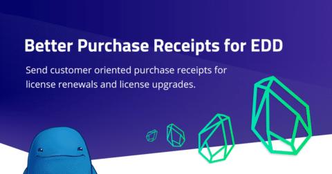Easy Digital Downloads - Better Purchase Receipts