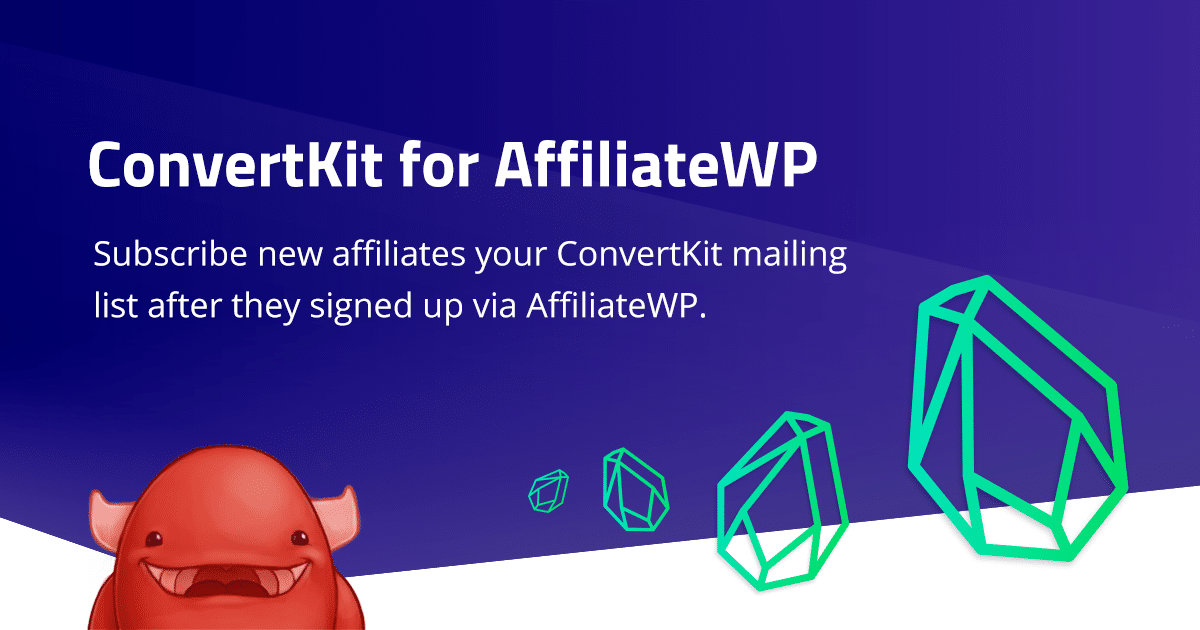 ConvertKit for AffiliateWP Integration released!