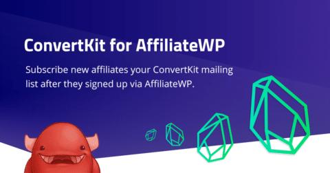 KryptoniteWP - AffiliateWP ConvertKit Integration Plugin