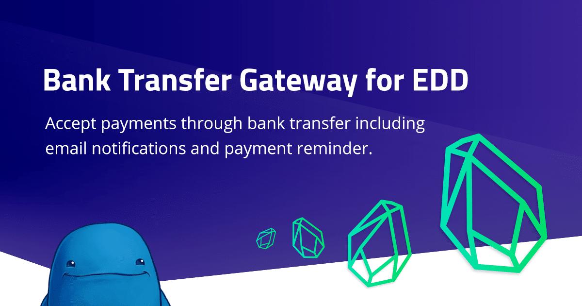 Easy Digital Downloads – Bank Transfer Gateway