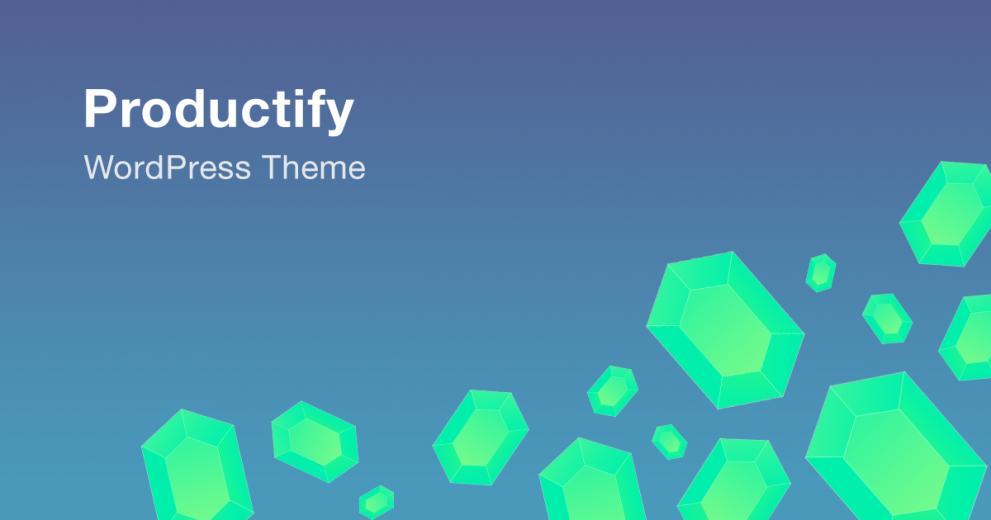 Productify WordPress Theme