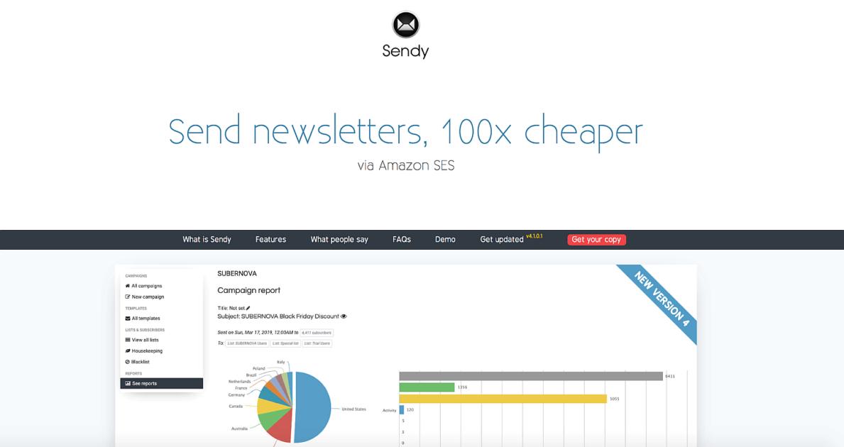 Sendy Newsletter Platform